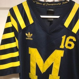 brand new 4360d b6a51 Michigan Wolverines Throwback Jersey